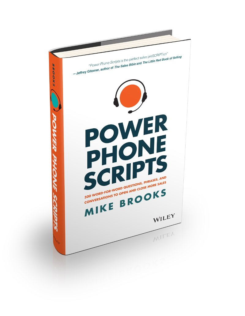 complete book phone scripts mike brooks
