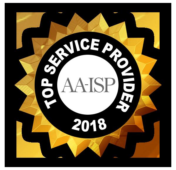 AA-ISP_TopServiceProvider2018