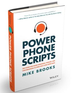 power phone scripts, sales scripts book, best phone scripts book, sales book, sales training book,